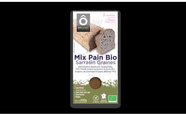 Mix Pain Sarrasin . Graines BIO Vegan sans gluten 200g