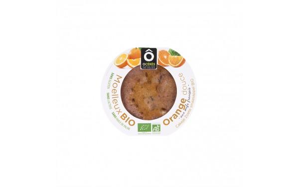 Moelleux BIO Orange douce sans gluten 70g