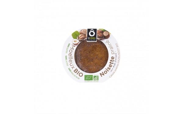 Moelleux BIO Praliné Noisette sans gluten sans lactose 60g