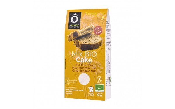 Mix BIO pâtissier Cake 150g