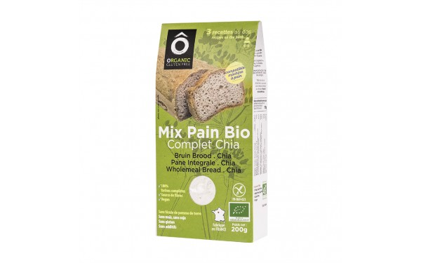 Mix Bio Pain Complet Chia 200g